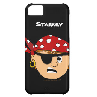 Scowling Boy Cute Pirate Personalised iphone 5 iPhone 5C Cover