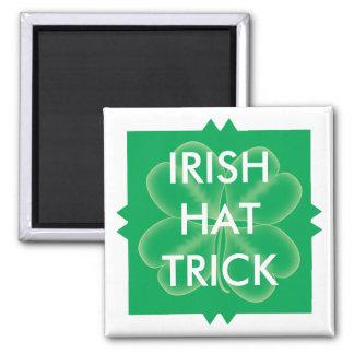 Scrabble Irish Hat Trick Square Magnet