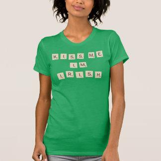 Scrabble | Kiss Me I'm Irish T-Shirt
