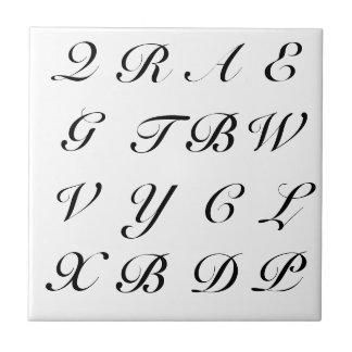 Scrabble Letters Small Square Tile