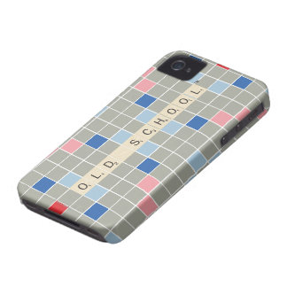 Scrabble Pattern 2 iPhone 4 Covers