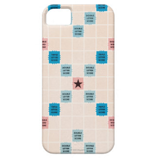 Scrabble Vintage Gameboard iPhone 5 Case