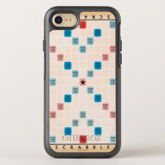Scrabble Vintage Gameboard OtterBox Symmetry iPhone 8/7 Case