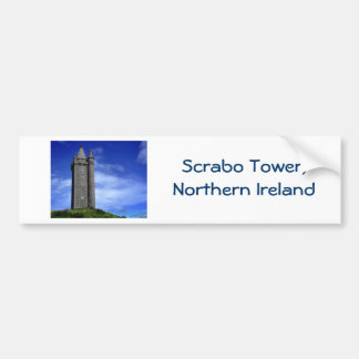 Scrabo Tower Bumper Sticker