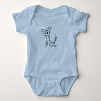 Scraggly Dog Baby Bodysuit
