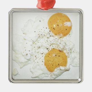 scrambled egg christmas ornament