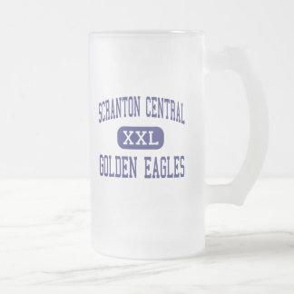 Scranton Central - Golden Eagles - High - Scranton Frosted Glass Mug