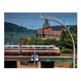 Scranton PA Postcard-Gateway to the City Postcard