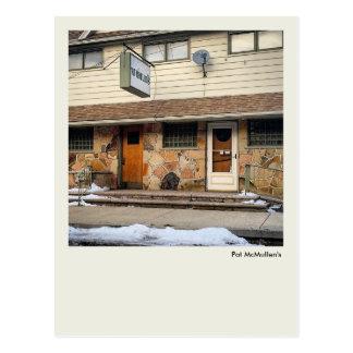 Scranton PA Postcard-Pat McMullen's Bar Restaurant Postcard