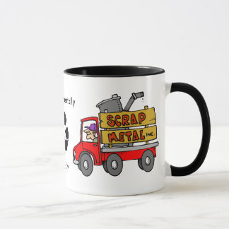 Scrap Metal Collector Mug