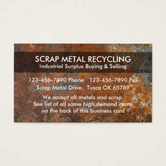 how to start a scrap metal business