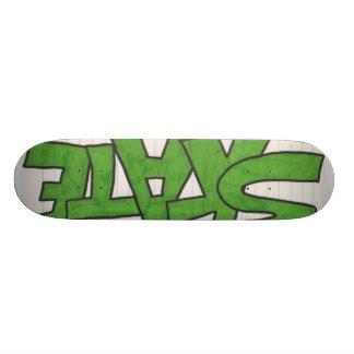 Scrap Paper 19.7 Cm Skateboard Deck