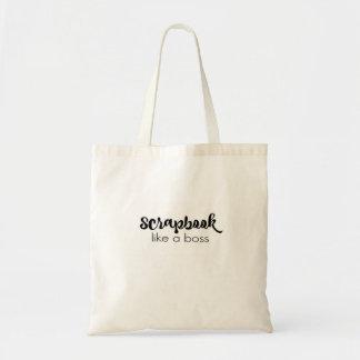 Scrapbook Like a Boss Tote Bag