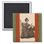 Scrapbook Magnet Scrapbooking Vintage Vogue style