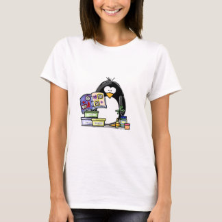 Scrapbook Penguin T-Shirt