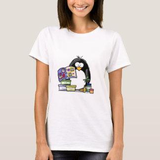 Scrapbook Penguin T-Shirt