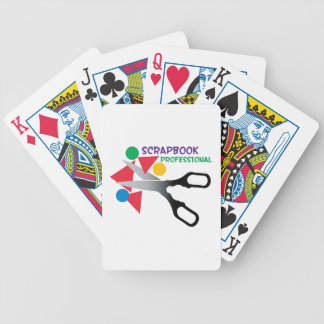 Scrapbook Professional Bicycle Playing Cards