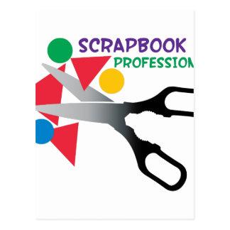 Scrapbook Professional Postcard