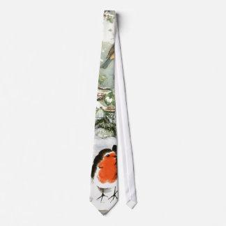 Scrapbook Robins Tie