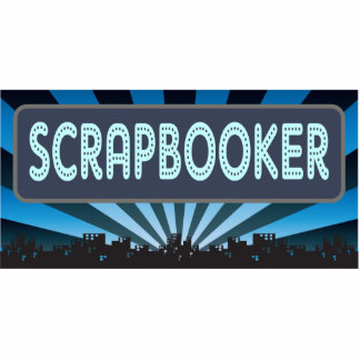 Scrapbooker Marquee Photo Cut Out