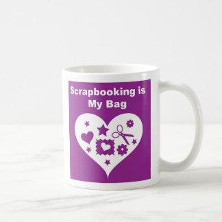 Scrapbooking Bag Coffee Mug