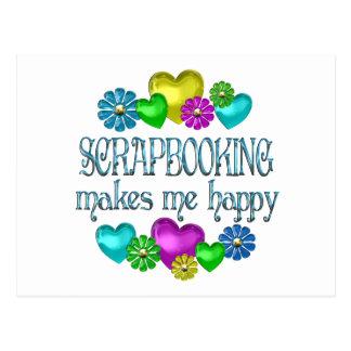 Scrapbooking Happiness Postcards