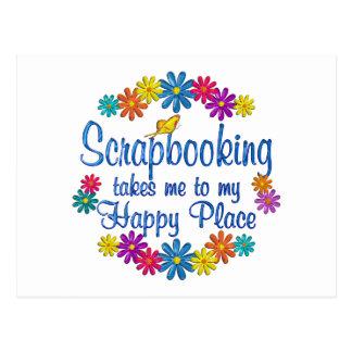 Scrapbooking Happy Place Postcard