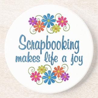 Scrapbooking Joy Coaster