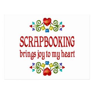 Scrapbooking Joy Postcards