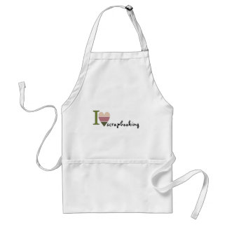 scrapbooking merchandise adult apron