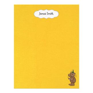 scrapbooking paper flyer design