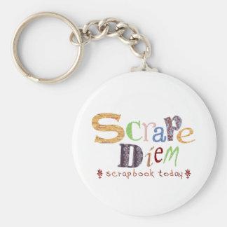 Scrape Diem (Scrapbooking) Keychains