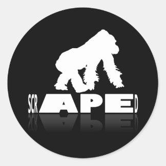 Scraped - APE Sticker