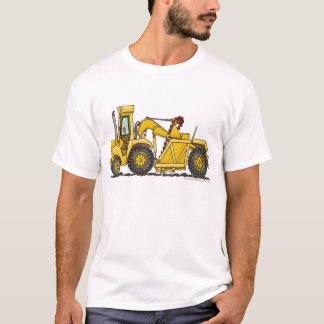 Scraper Dirt Mover Excavator Construction Apparel T-Shirt