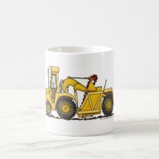 Scraper Dirt Mover Excavator Construction Mugs