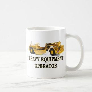 SCRAPER EARTH MOVER COFFEE MUGS