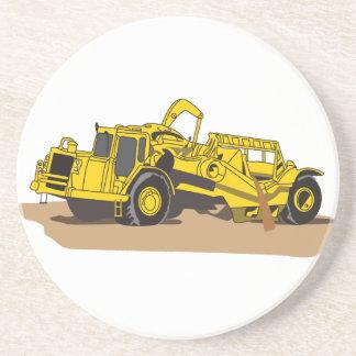 Scraper Truck Drink Coaster
