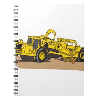 Scraper Truck Notebooks