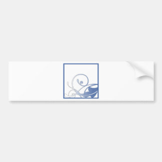 ScrappersWorkshop Swirl Bumper Sticker