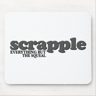 Scrapple Squeal Mouse Mat