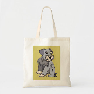 Scrappy Miniature Schnauzer Mustard Bag