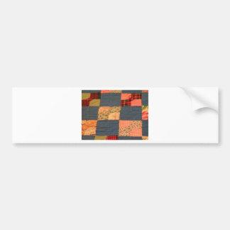 Scrappy Quilt Bumper Sticker