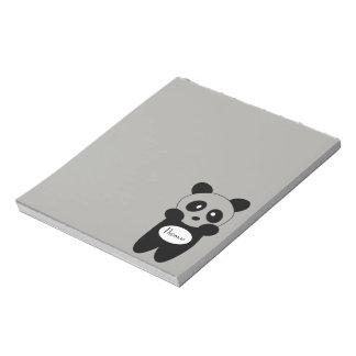 Scratch pads 14cmx15.2cm - Baby Panda