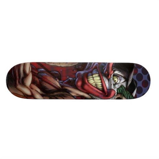 Scratch the Clown Deck Skate Deck