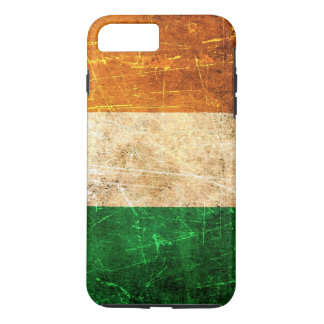Scratched and Worn Vintage Irish Flag iPhone 7 Plus Case