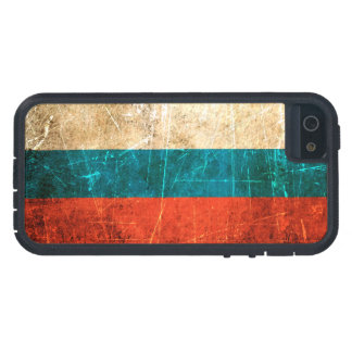 Scratched and Worn Vintage Russian Flag iPhone 5 Cases