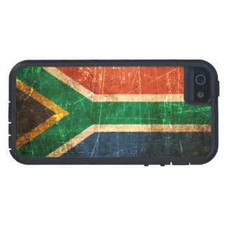 Scratched and Worn Vintage South African Flag Tough Xtreme iPhone 5 Case