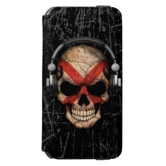 Scratched Northern Ireland Dj Skull Incipio Watson™ iPhone 6 Wallet Case