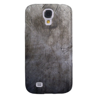 Scratched Titanium Image Galaxy S4 Case