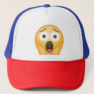 Scream Emoji Trucker Hat